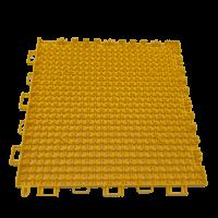 Interlocking floor tiles FX01 yellow 2