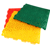 Interlocking floor tiles FX03