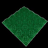 Interlocking floor tiles FX03 green 1