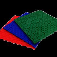 Interlocking floor tiles FX04