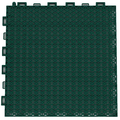 Interlocking floor tiles FX02 green