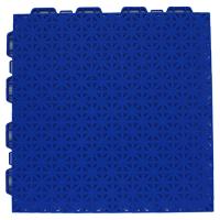 Interlocking floor tiles FX04 blue