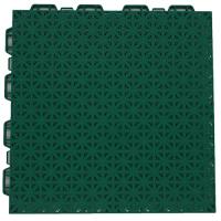 Interlocking floor tiles FX04 green