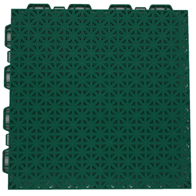 Interlocking floor tiles FX04 green