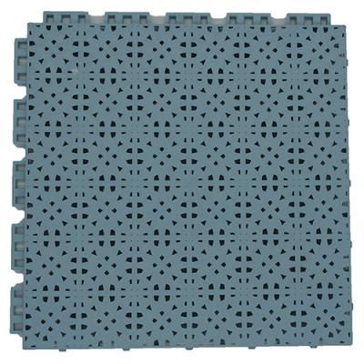 Suspended sport floor tiles FX05 grey