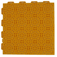 interlocking floor FX03 yellow