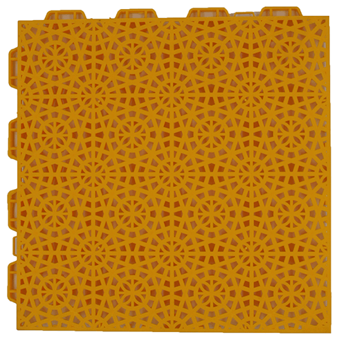 interlocking floor FX03 yellow