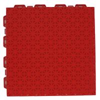 interlocking floor tiles FX04 red