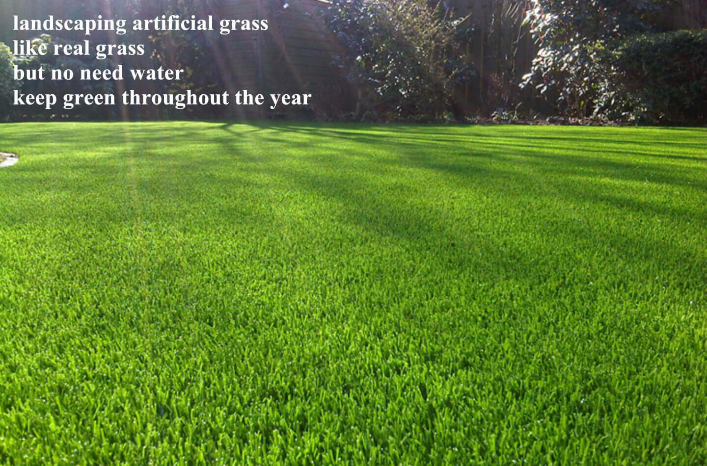 landscape applicaton artificial grass