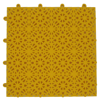 modular floor tiles FXA1 yellow