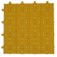 modular floor tiles FXA1 yellow back