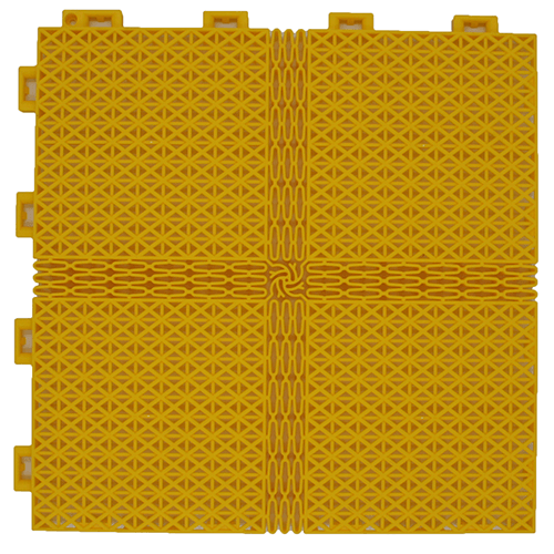 modular floor tiles FXSS SM yellow