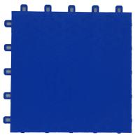 suspended sport floor tiles FXC blue