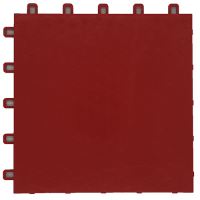 suspended sport floor tiles FXC red
