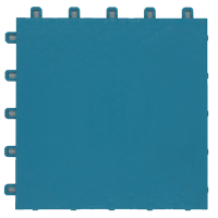 suspended sport floor tiles FXC sky blue